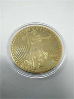 1933 Liberty US Twenty Dollar Gold -COPY