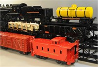 COMPLETE BUDDY L OUTDOOR RR TRAIN SET