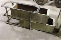 4 Vintage Metal Hardware Drawers