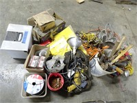 Large Lot of Assorted Hardware and Related