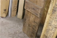 """Antique Reclaimed Board from Piano Crate - 114"""" L"""