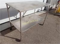 Stainless Steel Prep Work Table