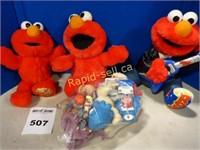 Tickle Me Elmo & Ghostbusters
