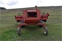 Hesston 6450 Swather