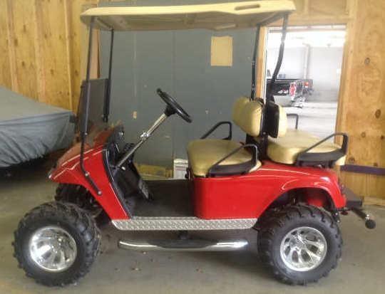 2004 E-Z-GO Golf Cart | Apple Towing Co