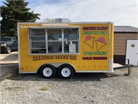 2007 J&L 18' CARGO EXPRESS CONCESSION TRAILER