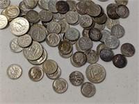 10.9 oz of Silver Dimes & Quarters
