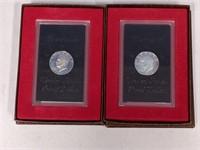 1971 & 1972 Eisenhower Proof Dollars