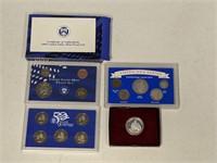 1999 US Mint Proof Set, Americana Series, George