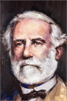 Art Oil Painting Robert E. Lee by Lindsey
