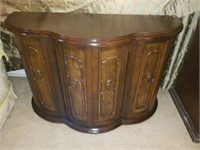 Beautiful Solid Wood Vintage Foyer Table