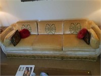 Vintage Highland House Victory Custered Couch