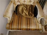 Beautiful Pair of Vintage Upholstered Chairs