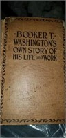 Booker T Washington's own story of his life book
