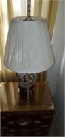 Nice Vintage Asian Songbird Lamp