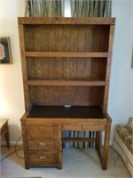 Beautiful Young-Hinkle Wooden Two Piece Desk