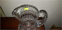 Beautiful Crystal Water Pitcher