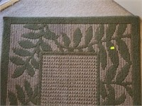 Beautiful Green & Taupe Area Rug