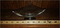 Frank Whiting Sterling Silver Base Glass Bowl
