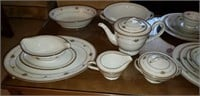 Noritake Joanne China 43 Pieces & Serving Pieces