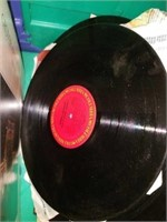 Vintage Kenwood Record Player & Records