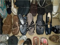 Large Estate lot of Very Nice Women's Shoes