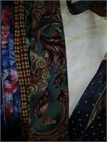 Large Lot of Men's Designer Long Ties & Suspenders