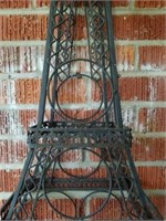 Beautiful Metal Pair Eiffel Tower Decor