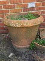PAIR of Terracotta Style Flower Pots