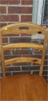Pair of nice wooden kitchen chairs