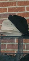 Nice wire basket with hats and gloves