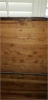 Antique Wooden cedar lined chest