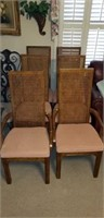 6 dining room chairs, mid century modern?