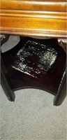Octagon shaped end table