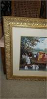 Joan Cole baptism print