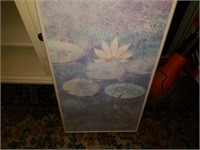 water lily pictures framed