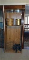 Bookshelf, plant stand, magazine rack,