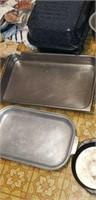 Enamelware roaster, bundt pan, pan,