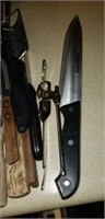 Entire contents of kitchen drawer,  knives & more