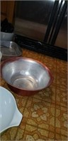 Pyrex, cake pans, casserole dish, scoop & more
