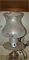 Pair of beautiful crystal like lamps