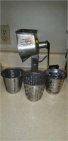 Kut Kleen grinder with attachments