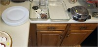 Pyrex dishes, waffle maker, no cord, and more