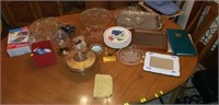 Estate lot of misc household items