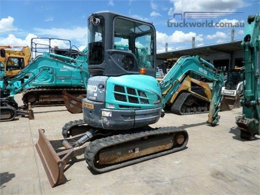 2014 Kobelco SK35SR-5 Heavy Machinery for Sale