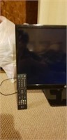 Small LG flat screen tv with remote