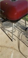 Red Charcoal grill