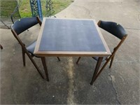 Mid-Century Modern Style Table & 2 Chairs