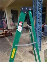 Green Louisville 6ft Ladder