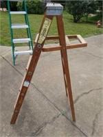 Florida Ladder Company Wooden 5 ft Ladder